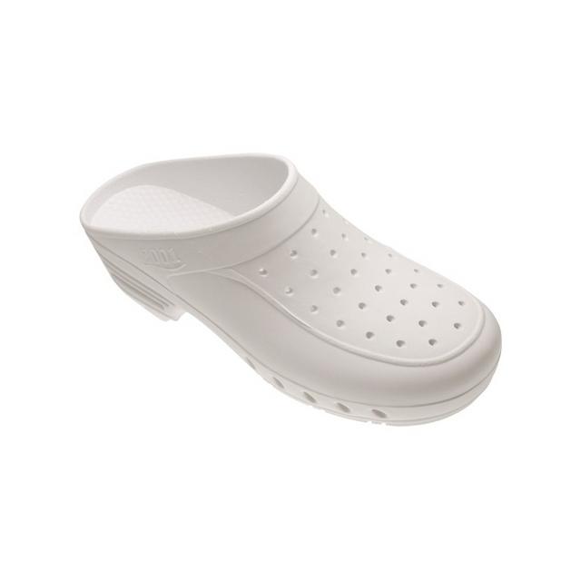 Label Blouse - Chaussure de Bloc Abloc Blanc pour bloc opératoire style Sabot  de bloc Blanc 695970a27908