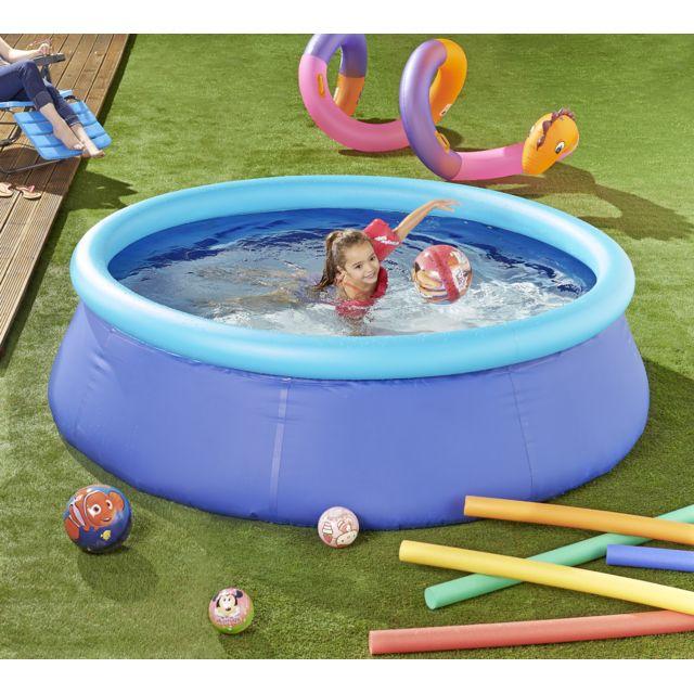 Carrefour piscine autoportante ronde bahia dia 2 44m for Piscina bebe carrefour