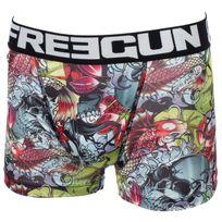 Freegun - Sous vêtement boxer Jap noir/blc boxer jr Noir 56243