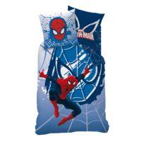 Spider-man - Housse de couette et taie d'oreiller Spiderman 100% coton