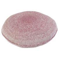 Sebra Interior - Coussin en Crochet - Rose
