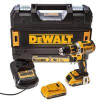 Dewalt - Perceuse/visseuse Dcd790D2 Compact 18V Xr Li-ion 2 x 2Ah Moteur sans charbon
