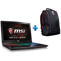 MSI - GE62 7RE-210FR Apache - Noir + Sac à dos Gaming