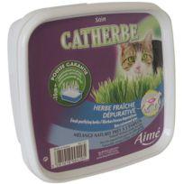 Aime - Catherbe Herbe fraîche Dépurative - Pour chat - 220g