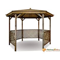 kiosque jardin bois achat kiosque jardin bois pas cher rue du commerce. Black Bedroom Furniture Sets. Home Design Ideas