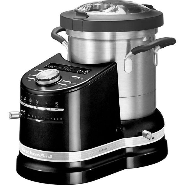 KITCHENAID robot cuiseur multifonctions 4.5l 1550w noir - 5kcf0103eob