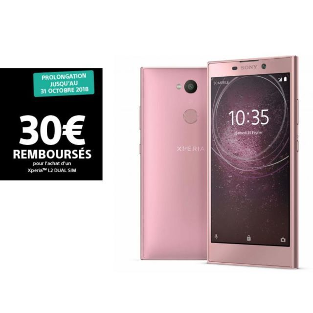 SONY Xperia L2 - Double SIM - Rose
