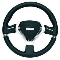 Simoni Racing - Volant tuning Montecarlo simili Cuir noir 350 mm