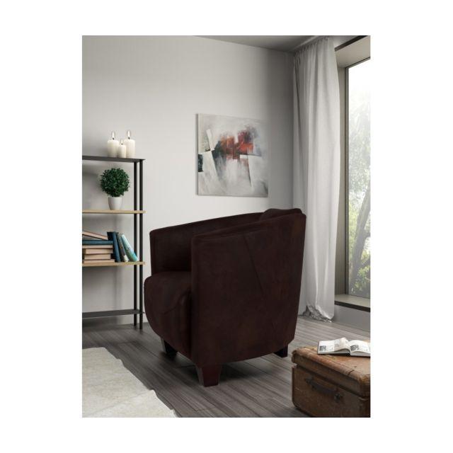 Rocambolesk Fauteuil Havana 1 Tobago 15 brun sofa divan
