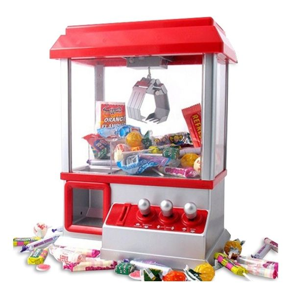 Totalcadeau Machine à pince pour bonbons sweet pop times