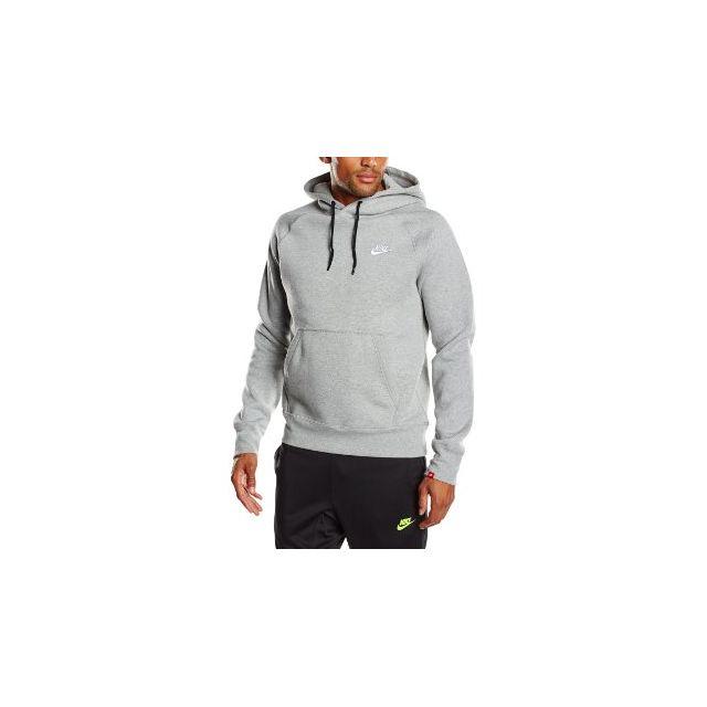 Hoodie S 598707 Sweat 066 Pas Gris Fleece Pullover Aw77 Nike WEDHIYe92