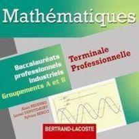 Bertrand Lacoste - mathématiques ; terminale professionnelle groupements A et B ; Cd du professeur