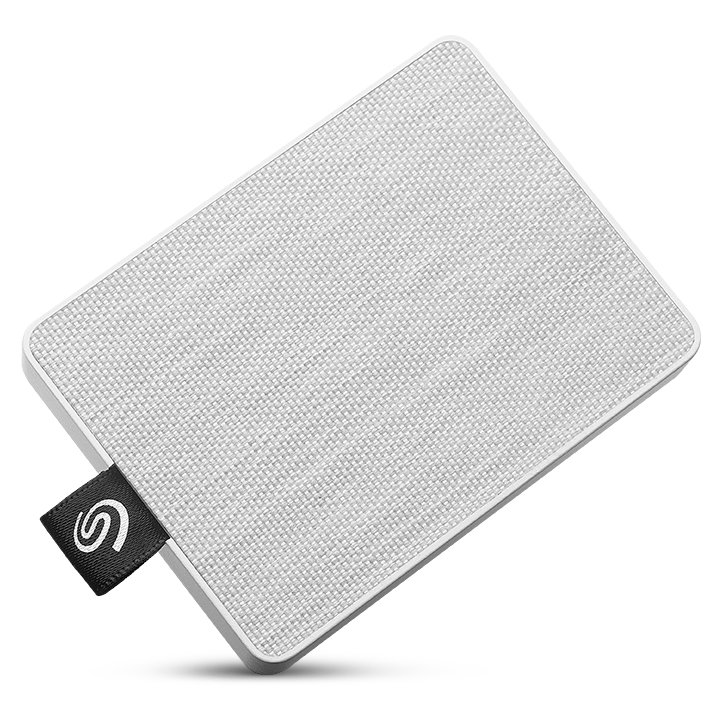 SSD externe One Touch 500 Go Seagate Blanc