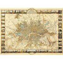 Ricordi Arte - Puzzle 1000 pièces : Plan de Londres