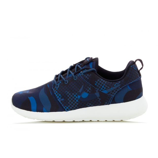 new product 0bb0e ca2f1 Nike - Basket Roshe Run Print - 655206-404 - pas cher Achat  Vente Baskets  homme - RueDuCommerce