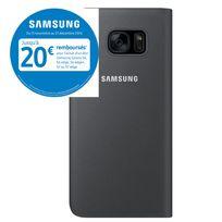 Samsung - Etui à rabat pour Galaxy S7 Edge - Noir