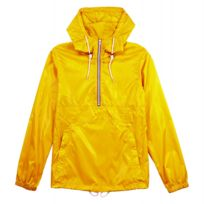 Pull and Bear - Coupe-vent imperméable Pull&Bear - Jaune