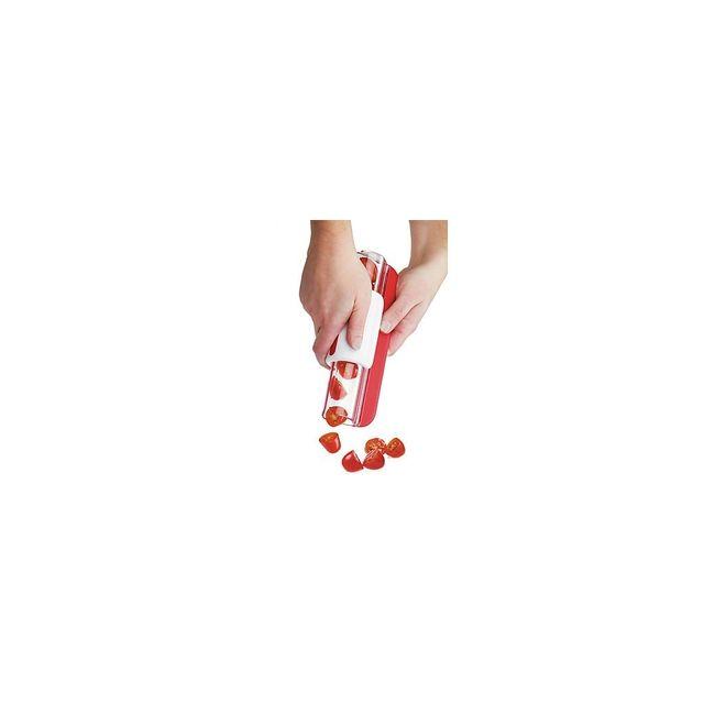 Alpexe Trancheur automatique de tomates cerises ou olives denoyautee ou encore raisin