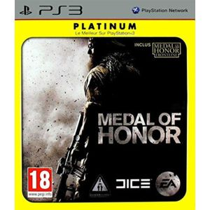 electronic arts medal of honor platinum ps3 pas cher achat vente jeux ps3 rueducommerce. Black Bedroom Furniture Sets. Home Design Ideas