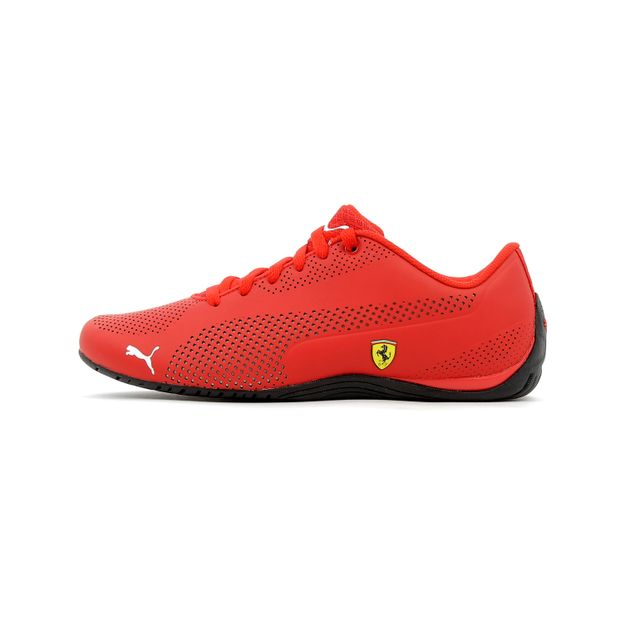 puma baskets basses drift cat 5 evo scuderia ferrari f1 rouge pas cher achat vente baskets. Black Bedroom Furniture Sets. Home Design Ideas