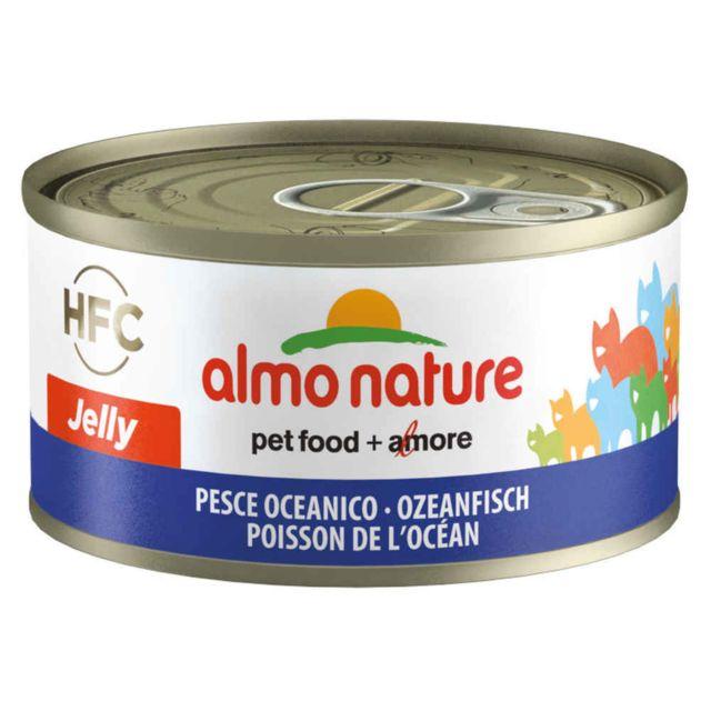 Almo Nature Pâtée en Boîte Hfc Jelly Poisson de l'Océan pour Chat 70g
