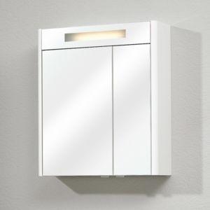 Marque generique armoire de toilette 3 portes miroir for Porte miroir 50 cm