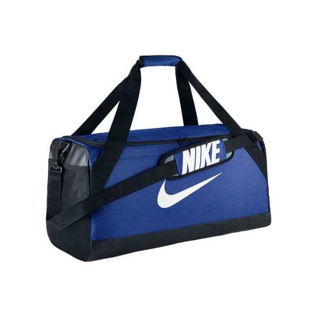 4b85e52556 Nike - Sac de sport Brasilia Medium Duffel bleu - pas cher Achat / Vente  Sacs à dos - RueDuCommerce
