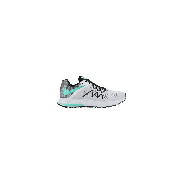 quality design c5c25 40452 Nike - Chaussures Nike Zoom Winflo 3 blanc vert femme