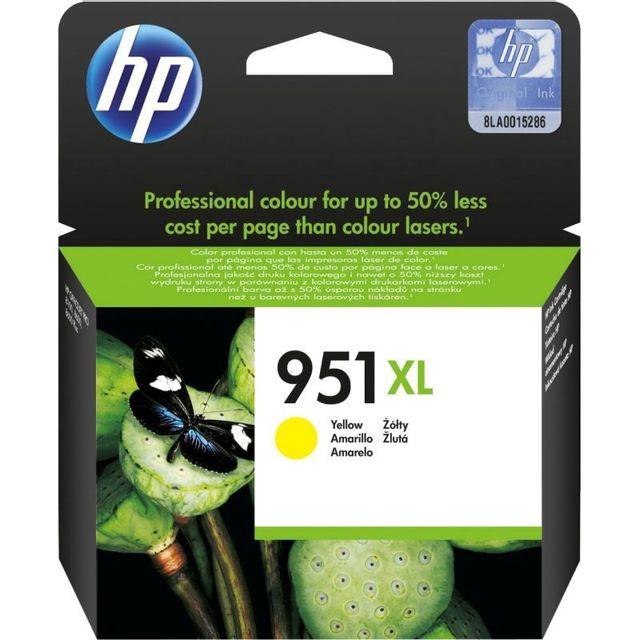 HP Cartouche d'encre Couleur 951 XL - CN048AN - Jaune