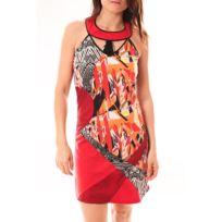 Bamboo39SFASHION - Bamboo's Fashion Robe Ba1501 Rouge