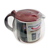 ROWENTA - Verseuse avec couvercle rouge - Cafetière, Expresso