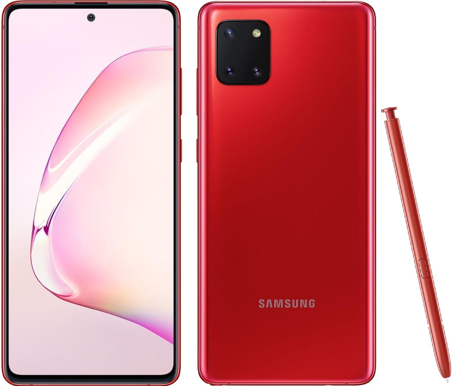 Smartphone Galaxy Note 10 Lite 128 Go Samsung Rouge Cardinal