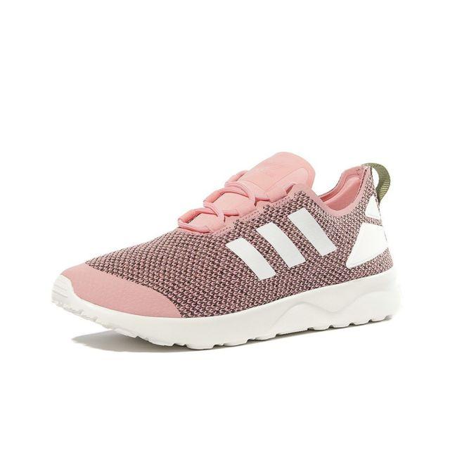 Adidas Chaussures ZX Flux ADV Verve Rose Femme Rose 40 23