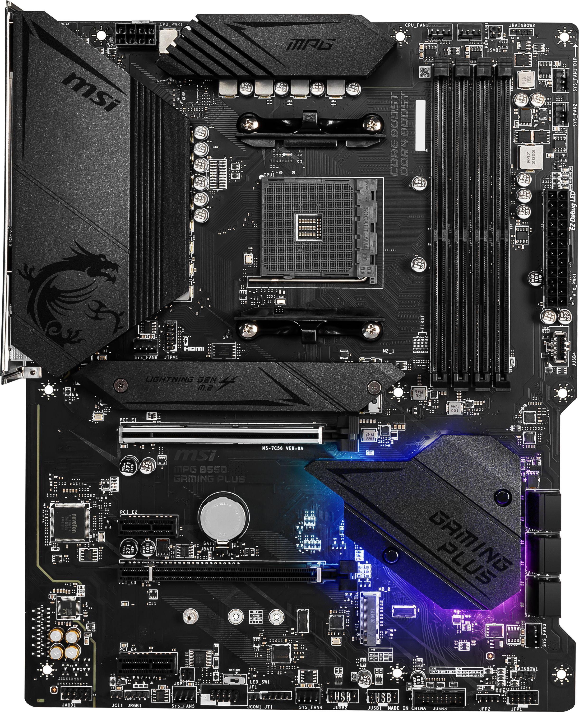 Carte mère MPG B550 Gaming Plus MSI