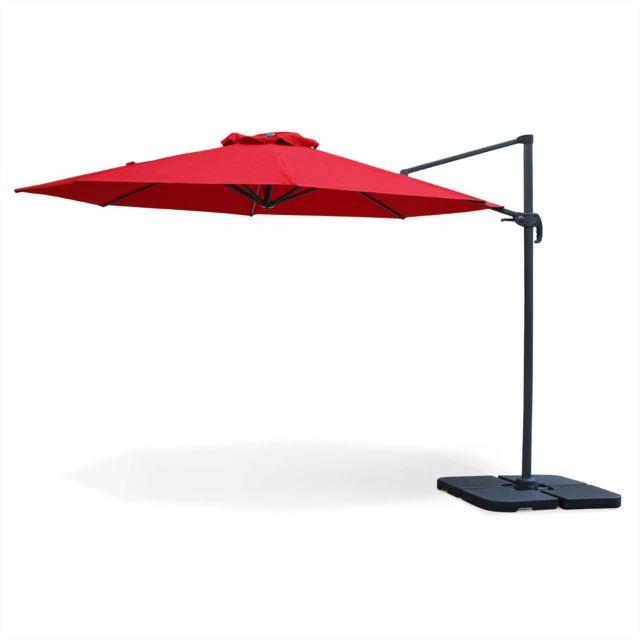 alice 39 s garden parasol d port octogonal 350cm. Black Bedroom Furniture Sets. Home Design Ideas