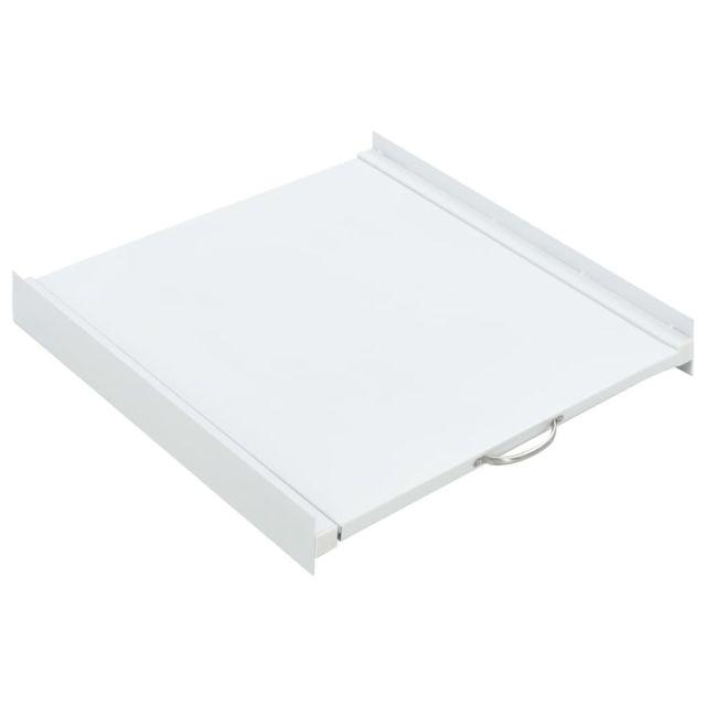 Vidaxl Kit pour tour de lavage-séchage avec étagère coulissante