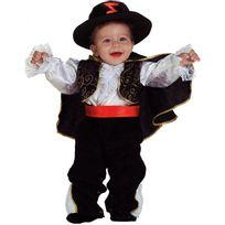 Marque Generique - Déguisement Zorro bébé 12 mois