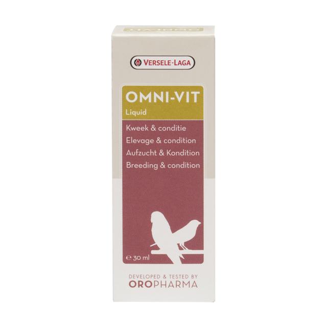 Versele Laga - Omni-Vit Liquid Oropharma soins pour oiseaux
