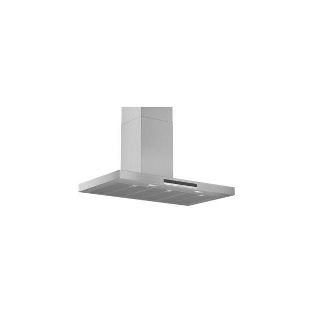Bosch BRANDT Hotte Décorative Murale BOX Largeur 90 cm Débit 710M3/H B- INOX
