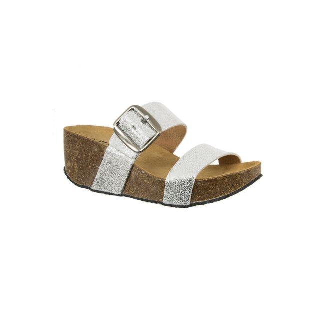 Plakton - sandales - nu pieds 273004 so rock gris - pas cher Achat   Vente  Sandales et tongs femme - RueDuCommerce 6a85a67cb3bc