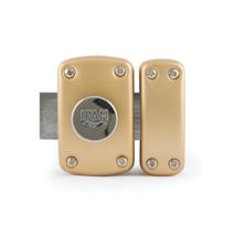 IFAM FRANCE - Verrou B6 bouton / cylindre 40mm - 5 clés réversible - cylindre D23mm - IFAM - 28400