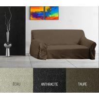 Bonareva - Housse pour canapé - 205 x 270 cm - Panama - Différents coloris ecru