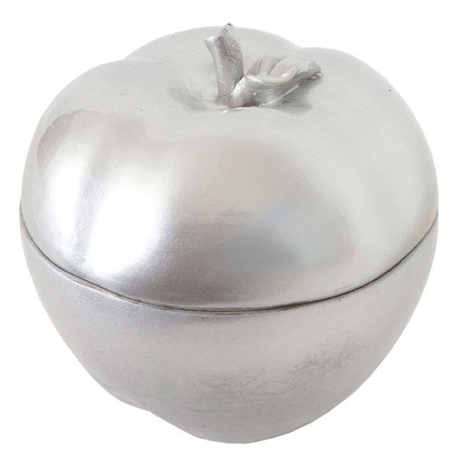 Mendler - Figure de décoration pomme 21cm, polyresin boîte de bijoux on