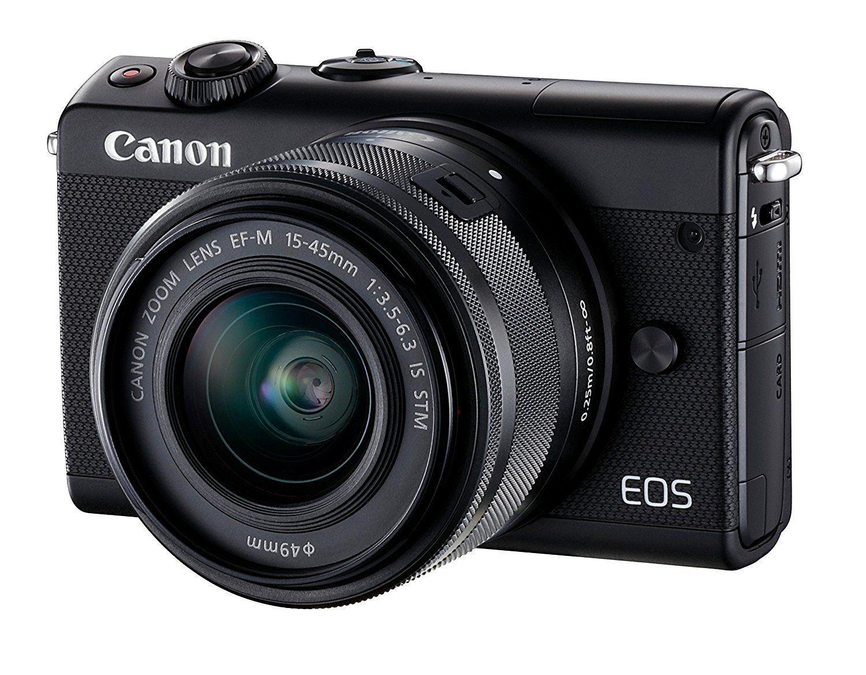 Appareil photo hybride noir M100 15-45