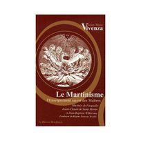 Le Mercure Dauphinois - Le Martinisme : L'enseignement secret des Maîtres