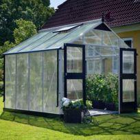 Juliana - Serre Premium en polycarbonate 10 mm - Dimensions : 10.9 m²