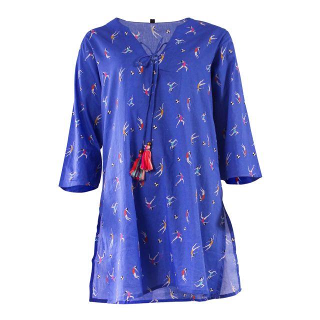 a99bb3a06a71b Palme - Tunique Femina Bleu Foncé S/M - pas cher Achat / Vente ...