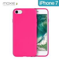 Moxie - Coque souple Be Fluo rose pour iPhone 7