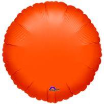 Amscan - 1 Ballon Rond Orange Mylar 42 cm