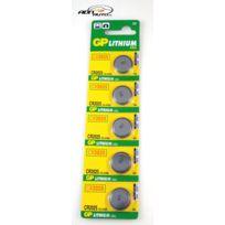 Gp Batteries - 5 Piles 3V Cr2025 Lithium